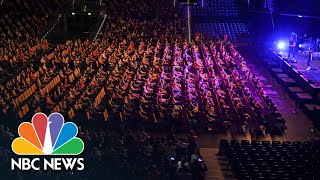 German Scientists Stage Packed Concert To Investigate COVID-19 Spread | NBC News