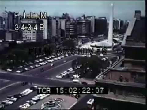 Vintage Argentina (stock footage / archival footage)