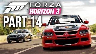 Forza Horizon 3 Gameplay Walkthrough Part 14 - CRAZY XP BOARD JUMP (Full Game)