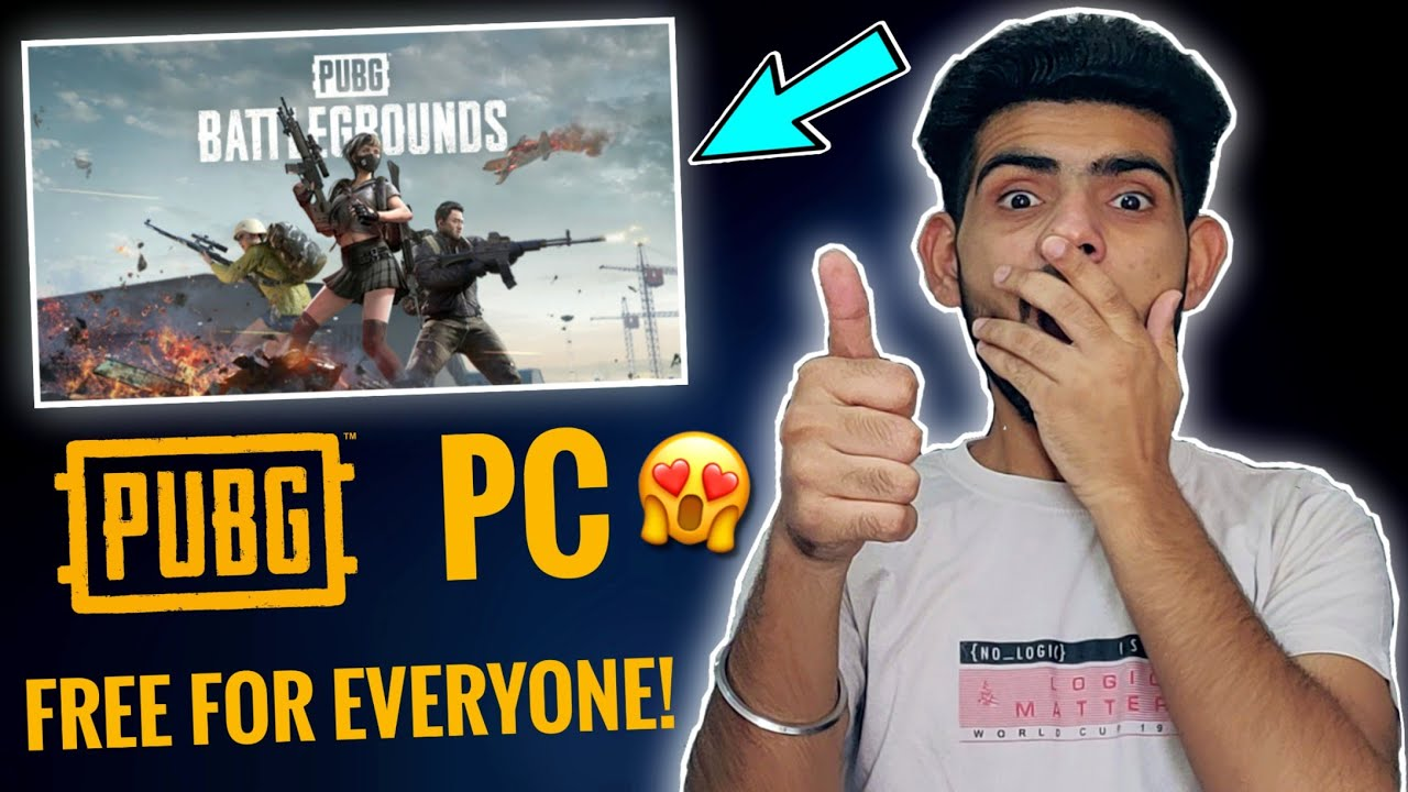 PUBG PC Free For Everyone!🤩😱🔥