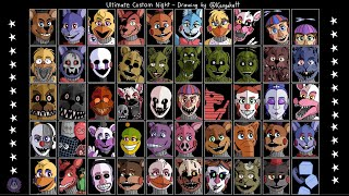 все голоса аниматроников из фнаф 7