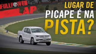 Uma pista de corridas como o templo de Interlagos não é o cenário i...