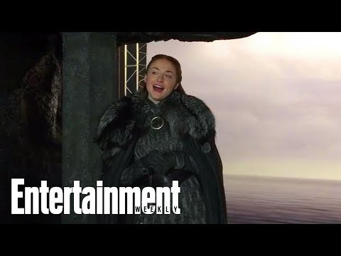 Sophie Turner & Maisie Williams Talk Their 'Game Of Thrones' Reunion | Entertainment Weekly