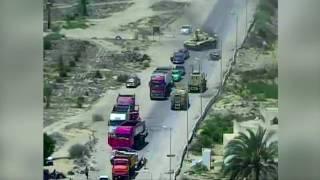 Военные в Египте проехались танком по авто террористов