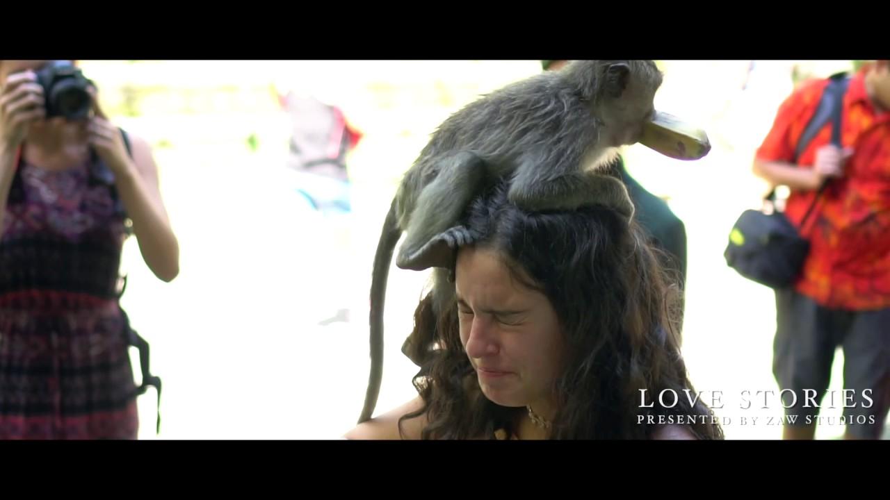 """(Instagram) """"Let's Monkey Around"""" – Bali Adventure Luxury Destination Weddings"""