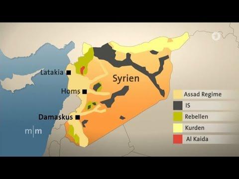 Syrien Karte Aktuell 2018.Syrien Konflikt Einfach Erklart