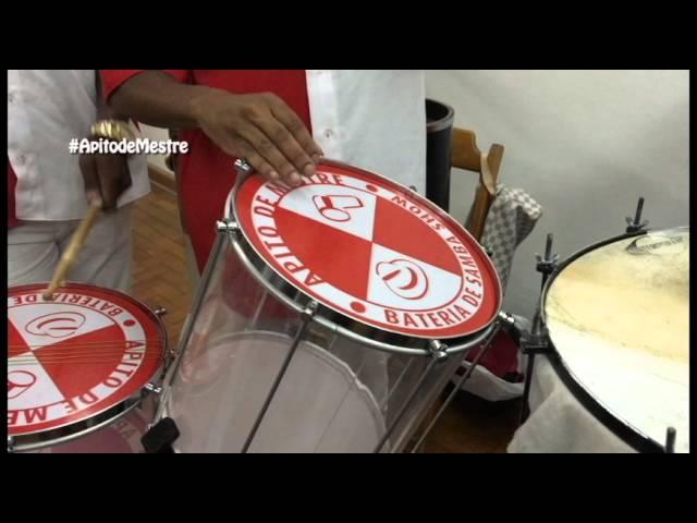 Show de ritmo com repinique, paradinha e levadas de repinique show, Bateria de Escola de Samba