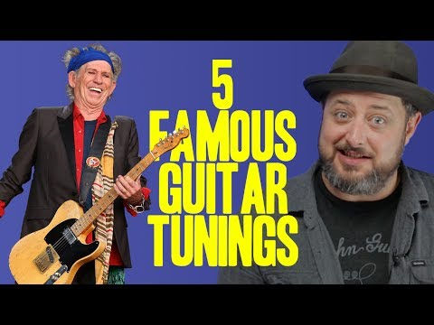 5 Famous Guitar Tunings