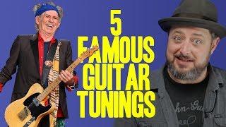 5 famous guitar tunings