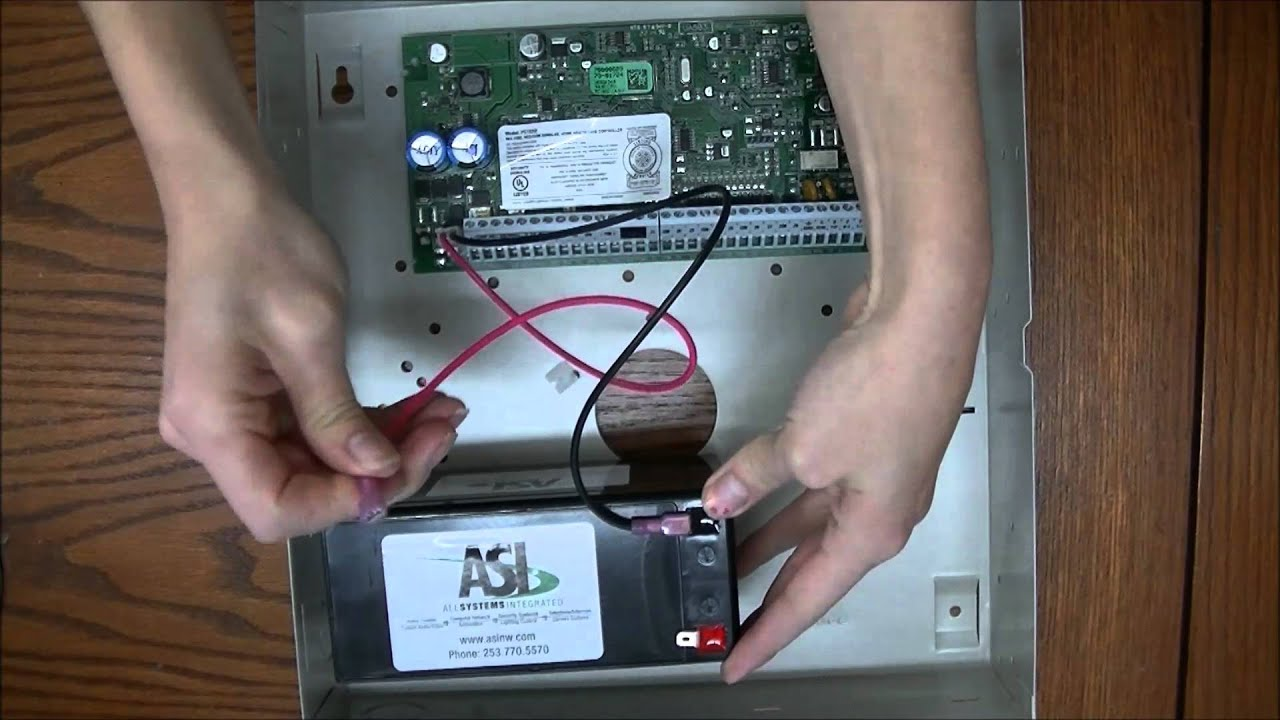 maxresdefault dsc security system panel battery replacement youtube