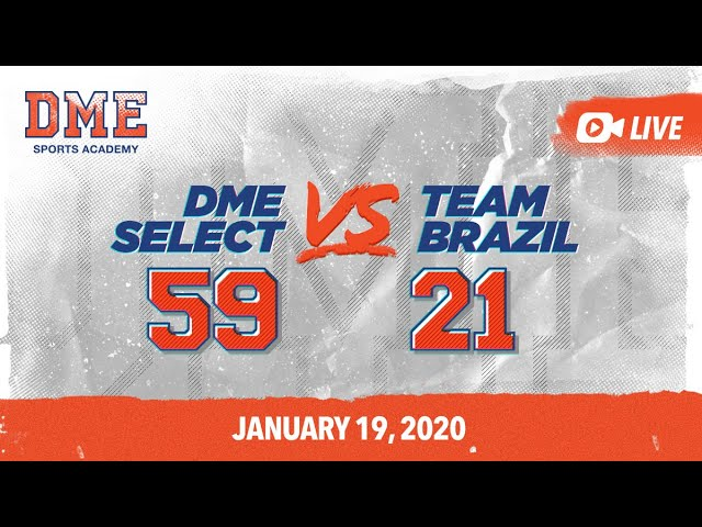 DME Select vs Team Brazil