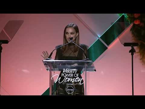 Natalie Portman's Rousing 'Power of Women' Speech - Variety