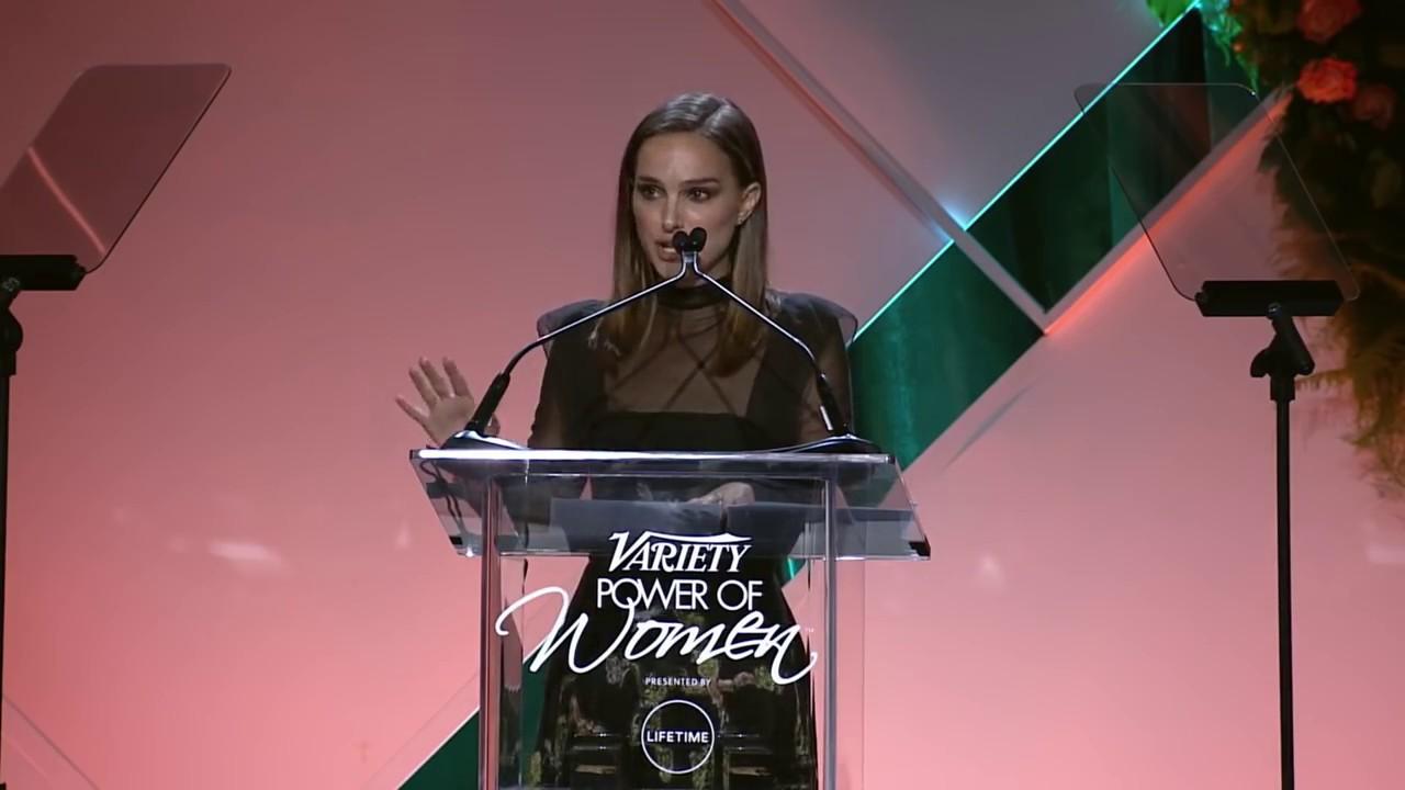 Natalie Portman's Rousing 'Power of Women' Speech - Variety