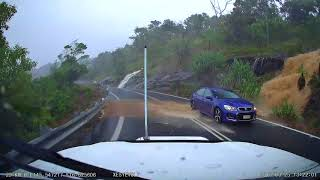 Port Douglas coast road, 25th March 2018 shortly before being closed.