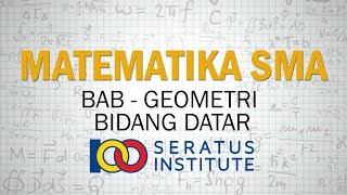 Geometri Bidang Datar - Contoh Soal