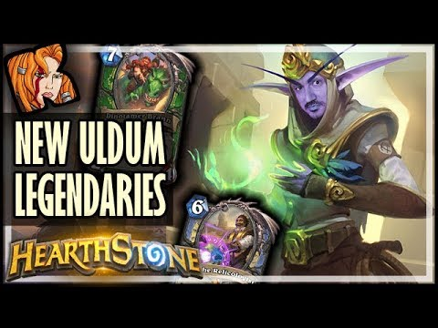 NEW RENO + BRANN + ELISE + FINLEY LEGENDARY CARDS! - Saviors Of Uldum Card Review - Hearthstone