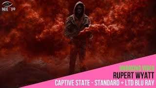 Captive State Di Rupert Wyatt, Il Blu Ray Limited Edition. Video Unboxing
