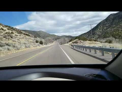 Musical road/highway in Tijeras New Mexico