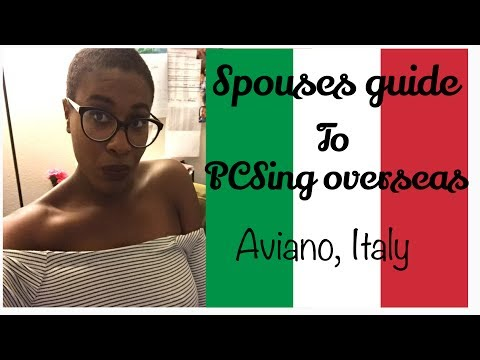 Military Spouses Guide To PSCing Overseas: Aviano, Italy 🇮🇹
