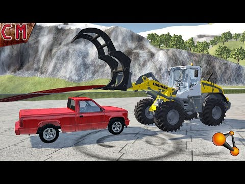 Car dismantling on spare parts (Disassemble, take to pieces) BeamNG Drive #2