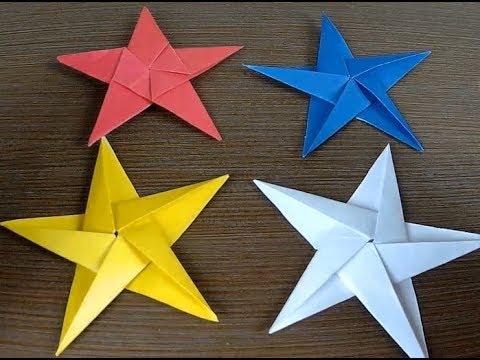 Origami Five-pointed Star/Пятиконечная звезда