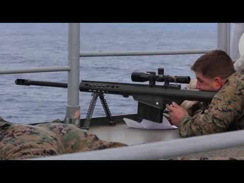 Marine Scout Snipers Attack Small Boat1