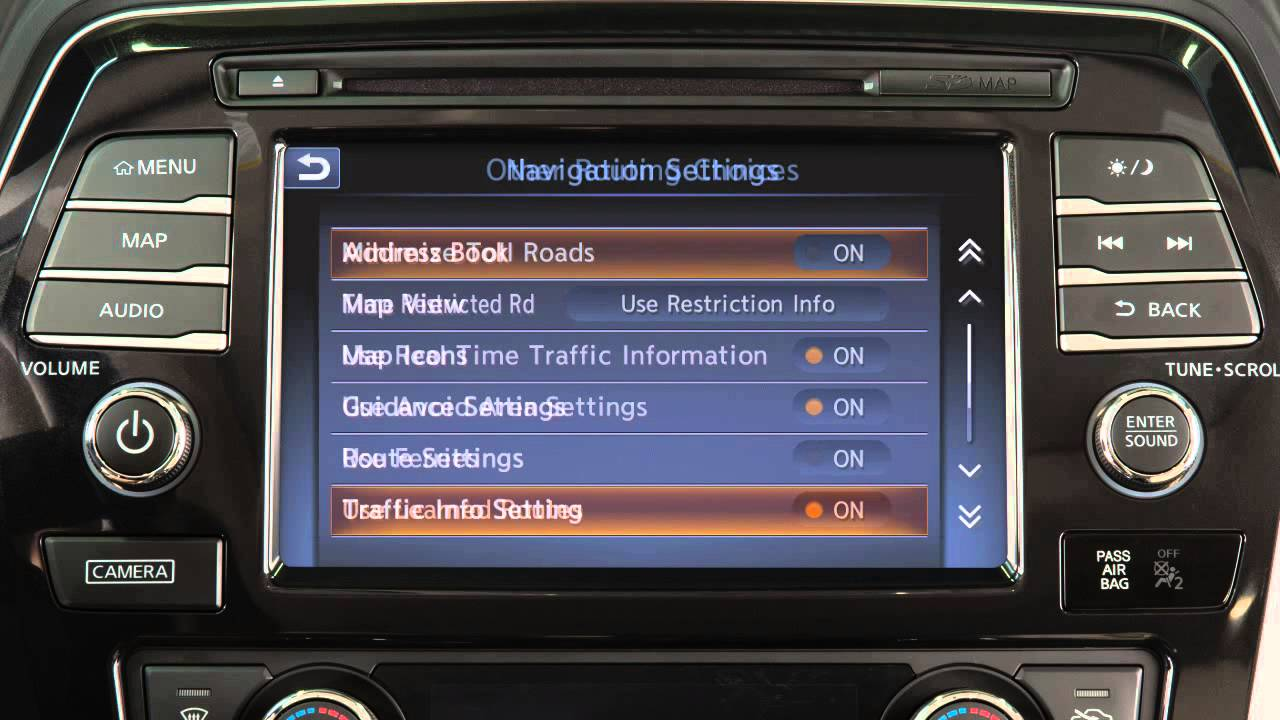 2016 Nissan Maxima Setting Key If So Equipped