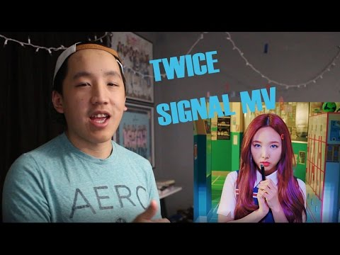 Thumbnail: TWICE - SIGNAL MV REACTION |SUPERPOWERS?|