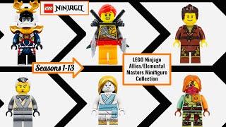 ALL LEGO Ninjago Elemental Masters and Allies Minifigures Season 1-13 (2011-2020)