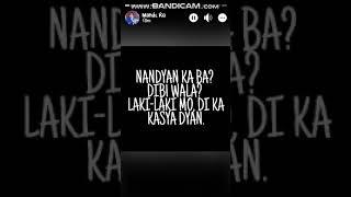Hindi ka naman dating ganyan lyrics