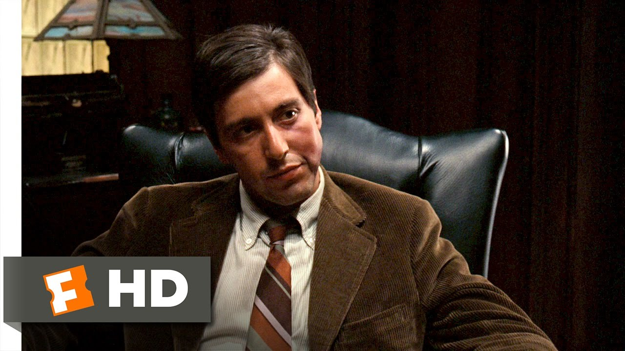 Its Strictly Business  The Godfather 29 Movie CLIP