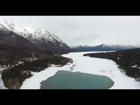 Cooper Landing in ALASKA(드론촬영)