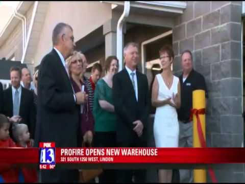 Fox 13 segment on new office and warehouse space for Profire Energy.