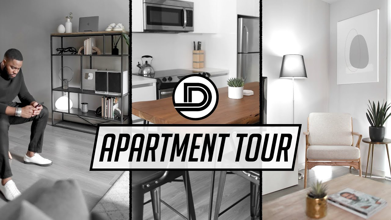 DOWNTOWN LOS ANGELES APARTMENT TOUR (2020) — DevanOnDeck