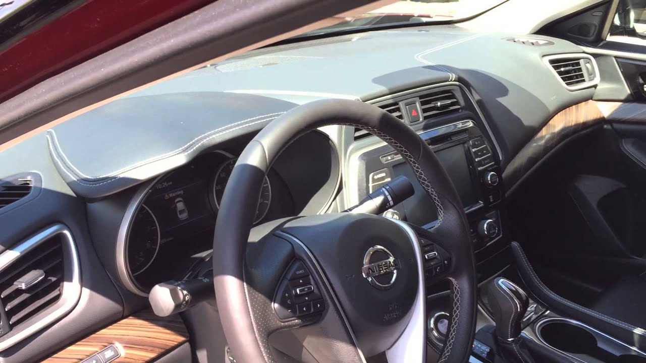 2016 Nissan Maxima platinum quick view Earnhardt Nissan Mesa Arizon