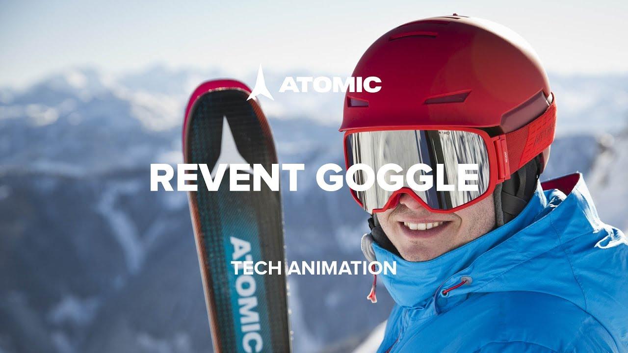 7badb64f6 Atomic Revent Goggle | Tech Animation - YouTube