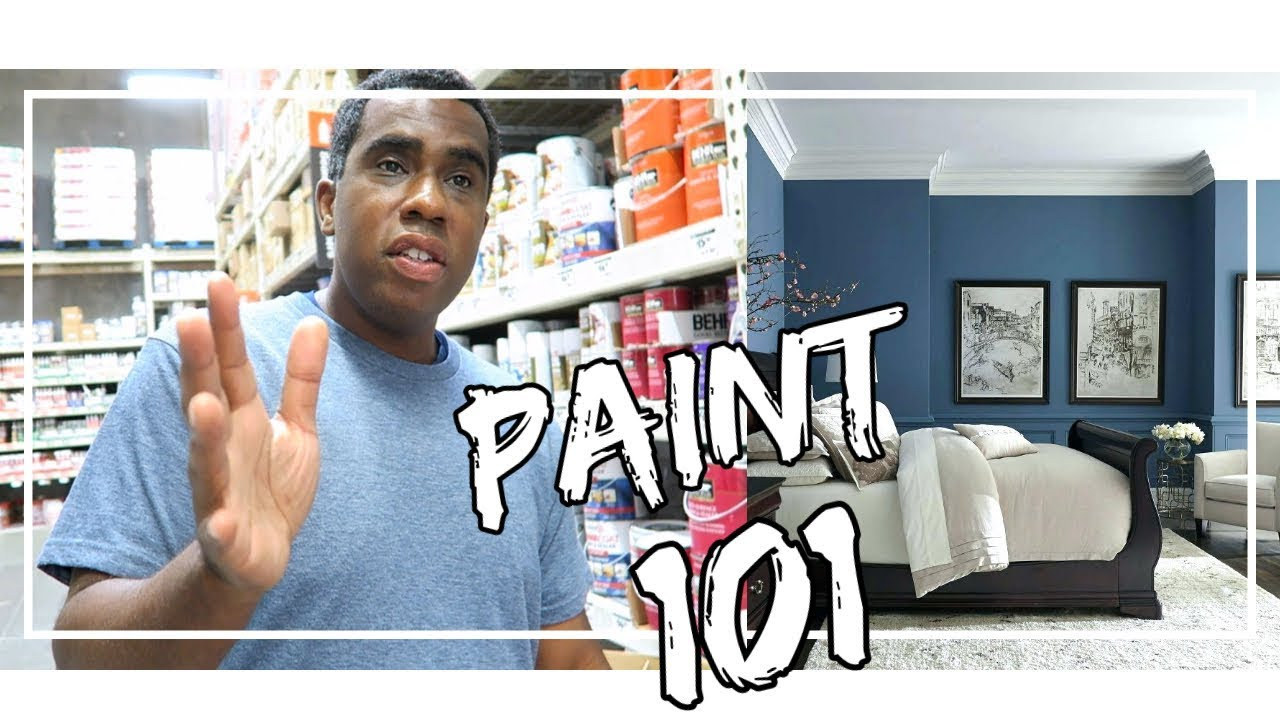 PAINT COLOR 101 | HOW TO EASILY PAINT YOUR HOME YOURSELF