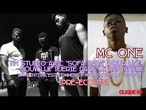MC ONE - En Studio Avec SOFA SABA Pour Nouvelle Tuerie Dans Le Rap Ivoire [Pré-écoute]