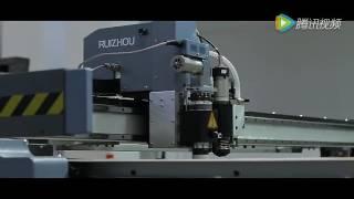 Планшетный режущий плоттер RZCUT 6016EF-2H для резки кожи(, 2016-10-10T12:11:36.000Z)