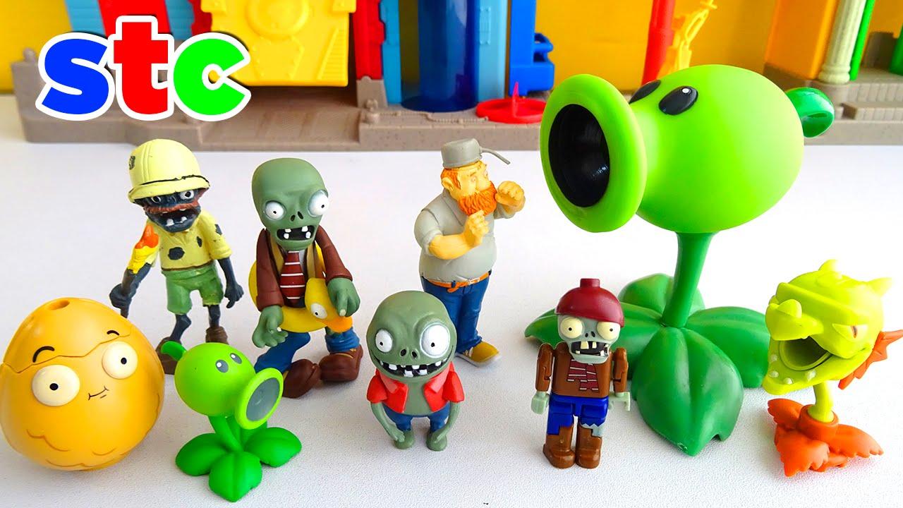 De Crazy Y Juguetes Peashooter Set Plants DaveImp Zombies Vs 8XPnNOk0w