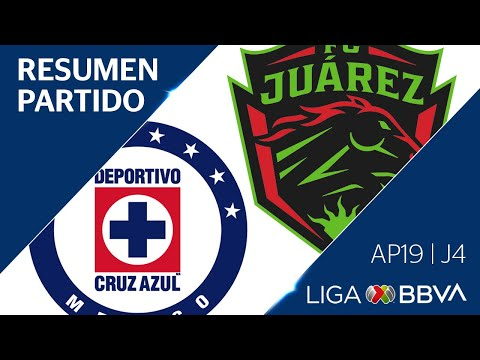 Resumen y Goles | Cruz Azul vs Juárez | Liga BBVA MX - Apertura 2019  - Jornada 4