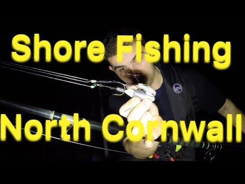 Shore Fishing At Night - Sea Fishing Cornwall