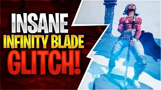 INSANE INFINITY BLADE GLITCH! (Fortnite Battle Royale)