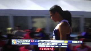 Морган Лейк 1.86 - European Athletics Junior Championships 2015 (Eskilstuna)