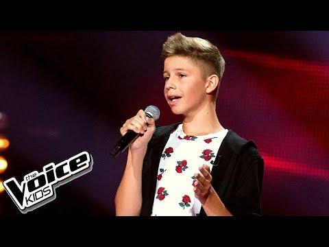 Mateusz Golicki - 'Nic tu po mnie' - Przesłuchania w ciemno - The Voice Kids Poland 2