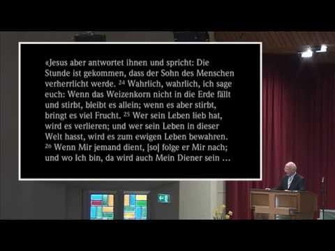 Fredi Winkler: «Die Bedeutung der Auferstehung»