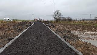 Jak utwardzić drogę ? Budowa drogi dojazdowej do budowy. Autostrada do piekła :D. Destrukt drogowy