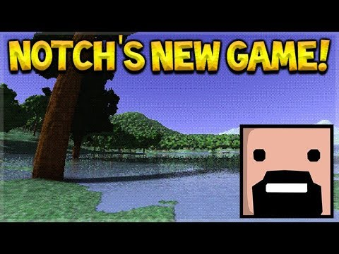 Is Notch Creating Minecraft 2? - Notch's NEW Game (Gameplay)