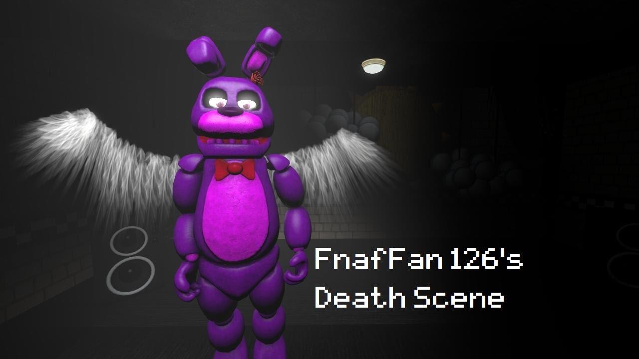 sfm fnaf fnaffan 126s death scene youtube