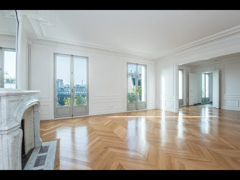 (Ref: 17084) 5-Bedroom unfurnished apartment for rent on Avenue de Villiers Paris (Paris 17th)